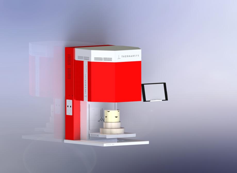 KERAMOS 1650-Dental Zirconia Sintering Furnace-Lift Model 1650C-MoSi2 Heaters