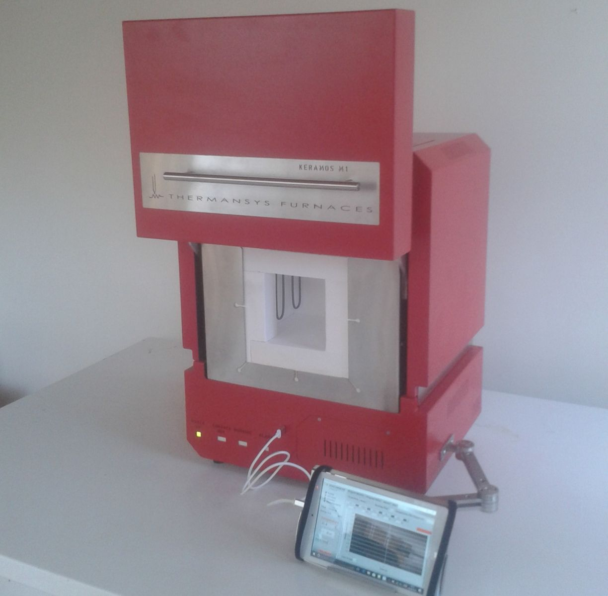 KERAMOS M-Dental Zirconia Sintering Furnace-1650C-MoSi2 Heaters