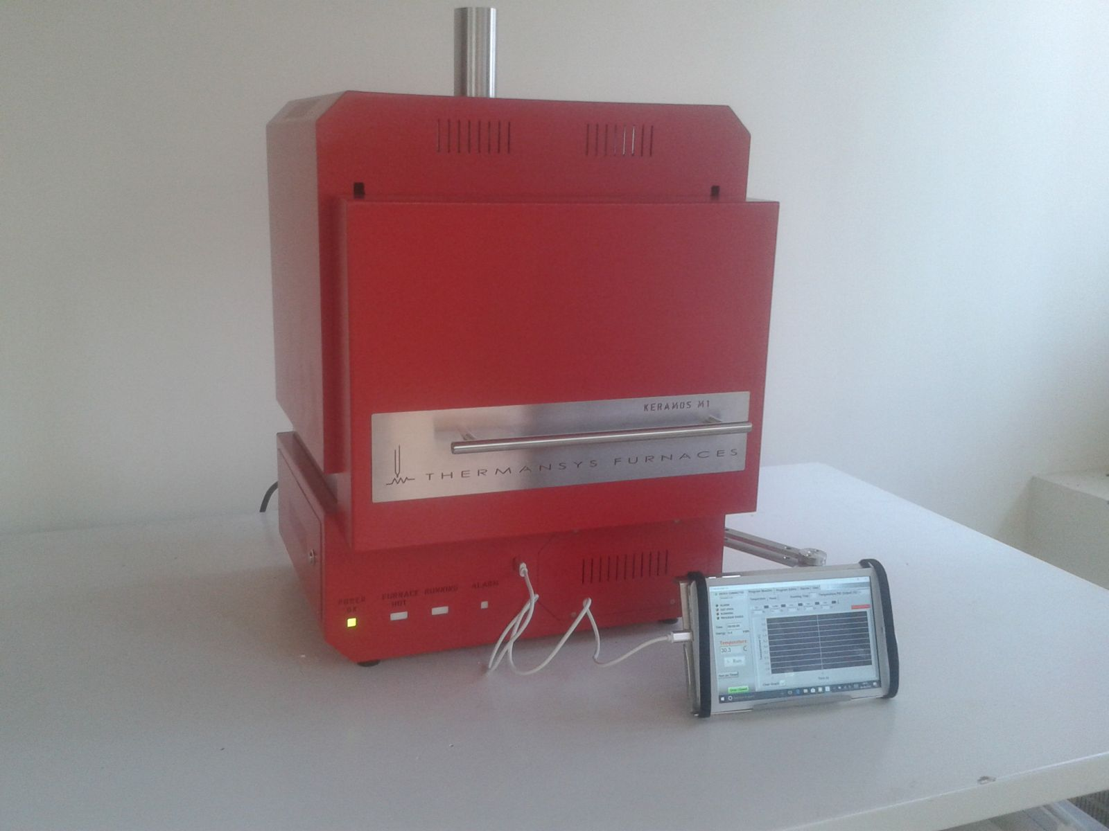 KERAMOS S-Dental Zirconia Sintering Furnace-1550C-SiC Heaters