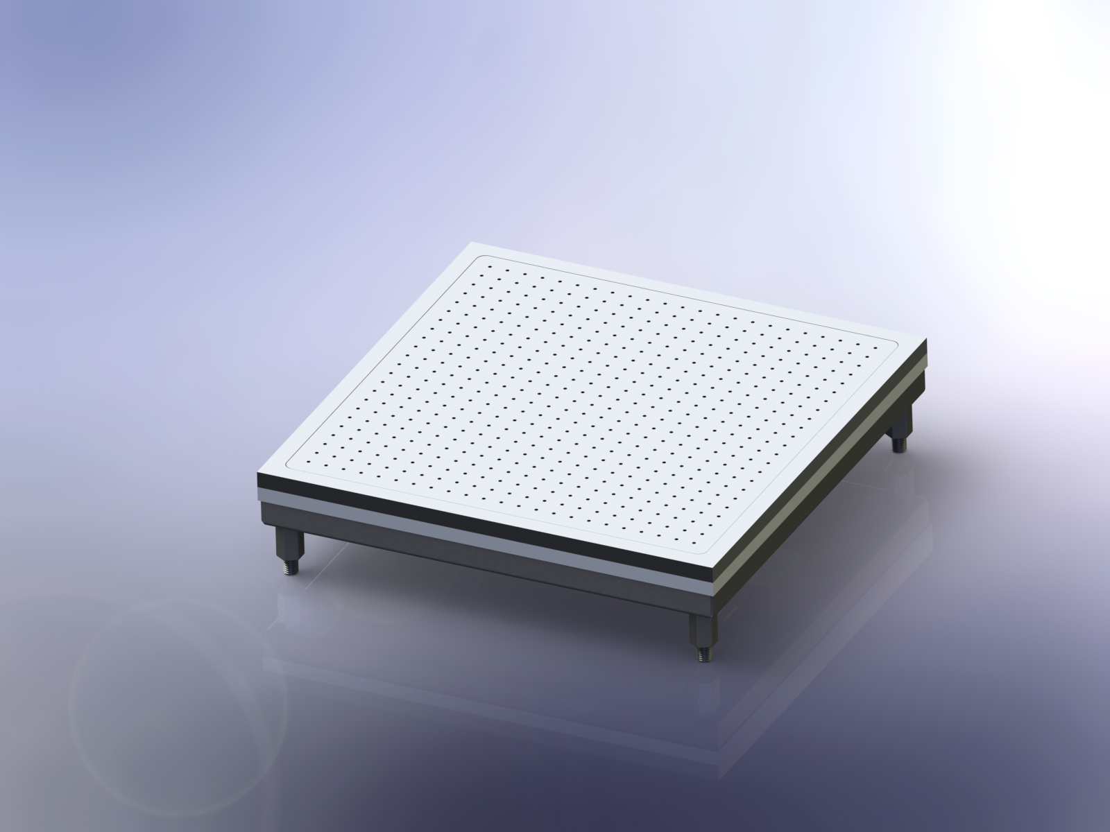 Compact Vacuum Chuck Hot Plates-Thin Film-Membrane Heating and Drying
