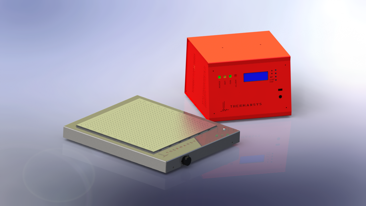 Vacuum Chuck Heated Plates-Thin Film-Membrane Heating and Drying