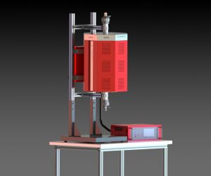 High Temperature Tube Furnace, up to 1800˚C - MoSi2 Heaters